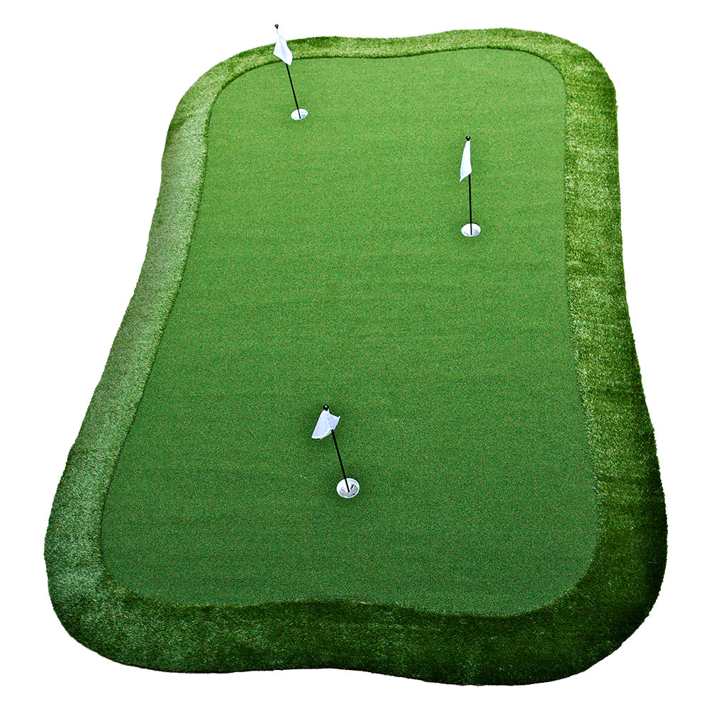 12 u0027 x 18 u0027 dave pelz greenmaker putting green system
