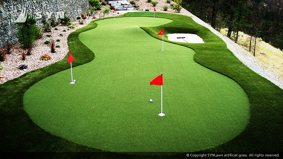 Stunning Indoor Golf Putting Green Gallery - Decoration Design ...